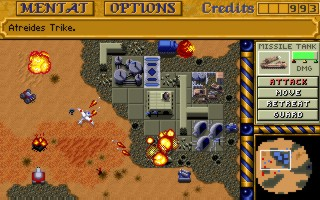 Echtzeit-Strategie, Dune 2 © Electronic Arts