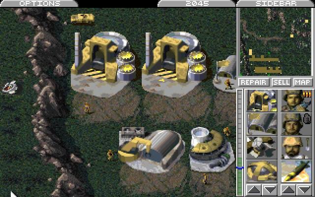 Echtzeit-Strategie, Command & Conquer: Der Tiberiumkonflikt © Electronic Arts