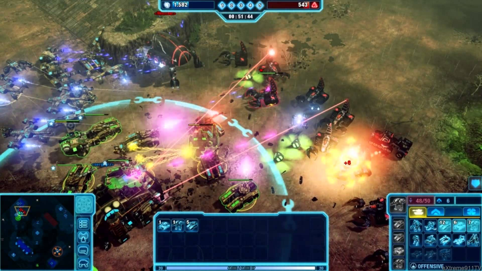 Echtzeit-Strategie, Command & Conquer 4: Tiberian Twilight © Electronic Arts