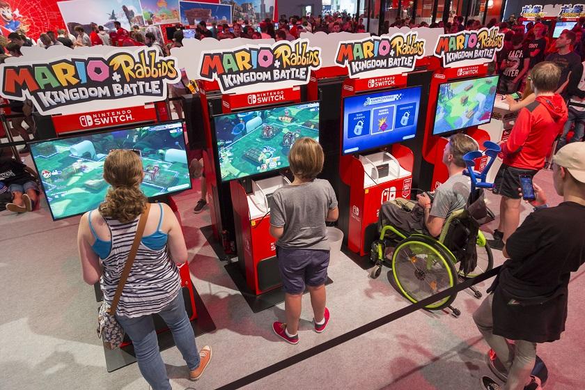 Stand: Nintendo, Halle 9 (gamescom)