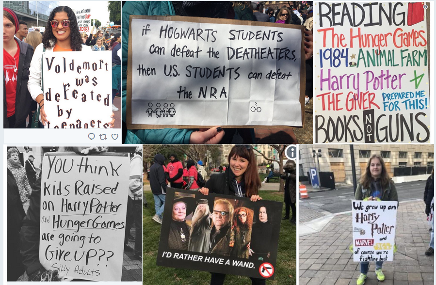 Harry Potter March for our Lives