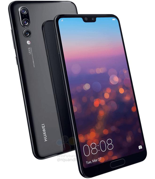 Huawei P20 Pro 3 Kameras
