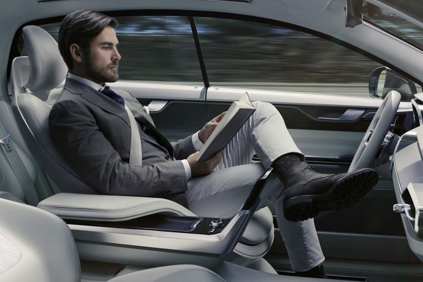 Autonomas Fahren, selbstfahrende Autos, Volvo