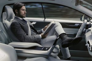 Autonomes Fahren, selbstfahrende Autos, Volvo