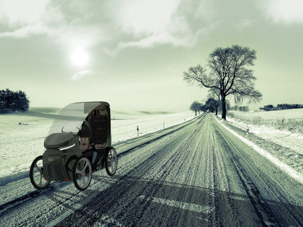 CityQ E-Bike schlechtes Wetter