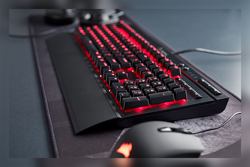 Gaming Tastatur Corsair K68 Red LED