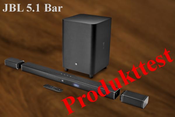 JBL 5.1 Bar Surround Soundbar Test Review Erfahrung