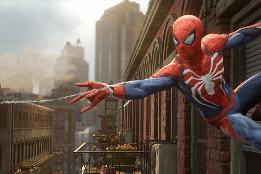 Spiderman Spiel für die Ps4 2018