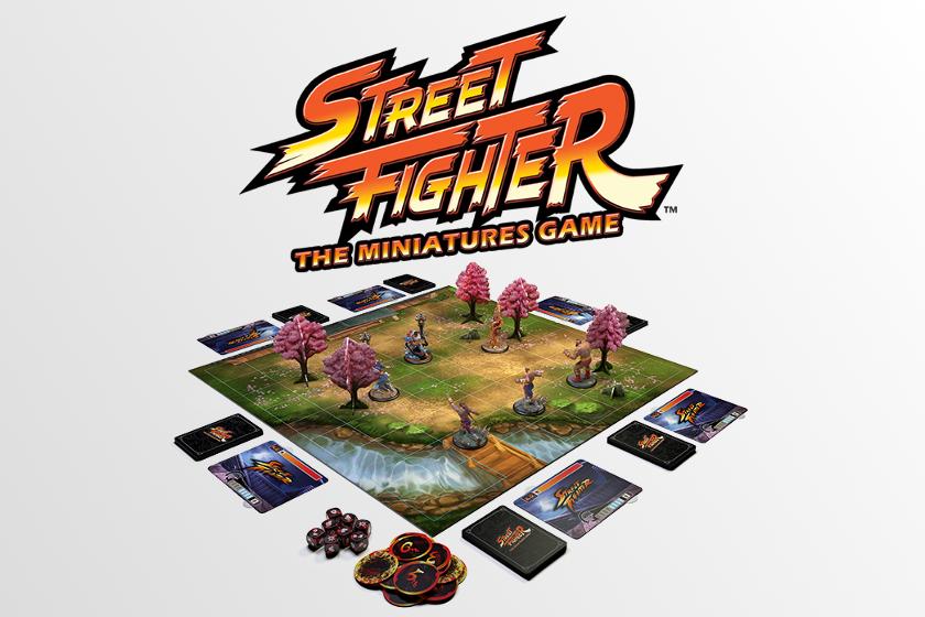 Street Fighter Brettspiel kaufen