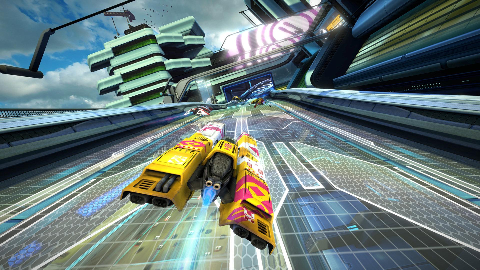 Die besten VR Spiele: WipeOut Omega