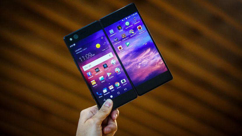 ZTE Axon M Handy Smartphone 2 Bildschirme