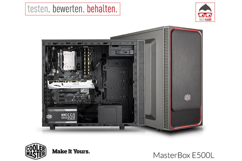 Produkttest MasterBox E500L Cooler Master
