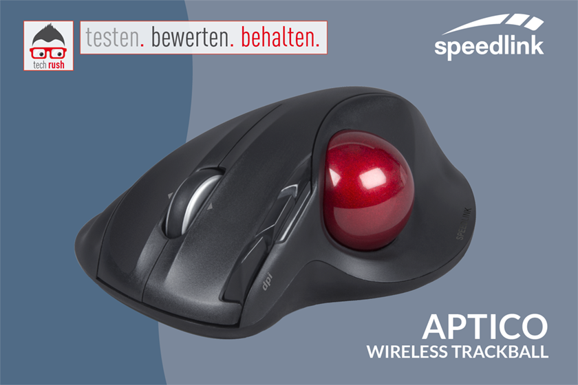 Speedlink APTICO Trackball Produkttest
