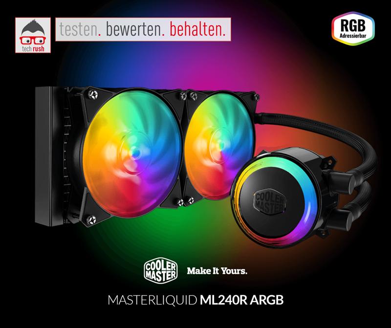 MasterLiquid ML240R RGB Produkttest Wasserkühlung