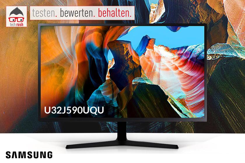 Samsung U32J590UQU Produkttest