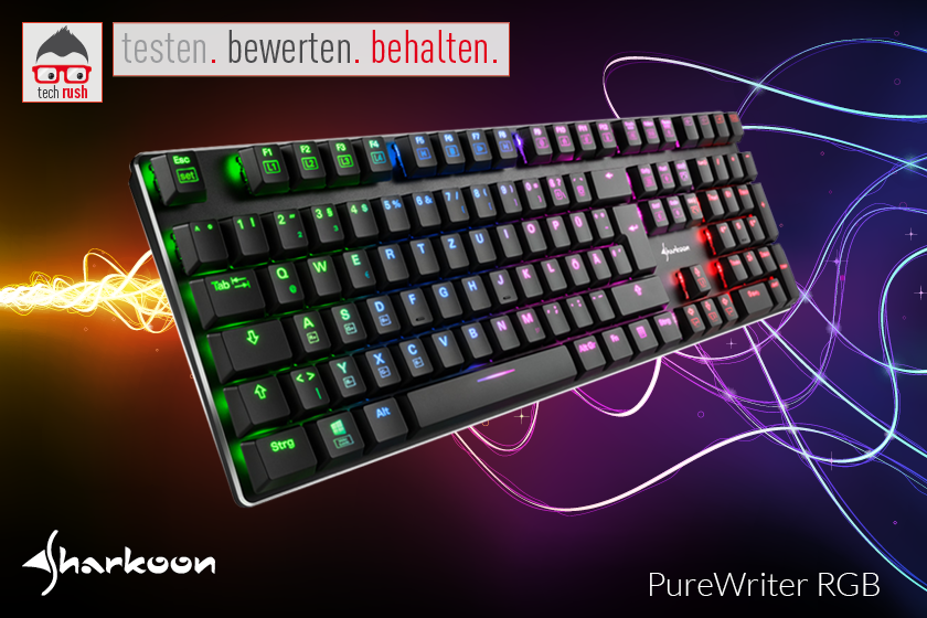 Produkttest Sharkoon PureWriter Tastatur
