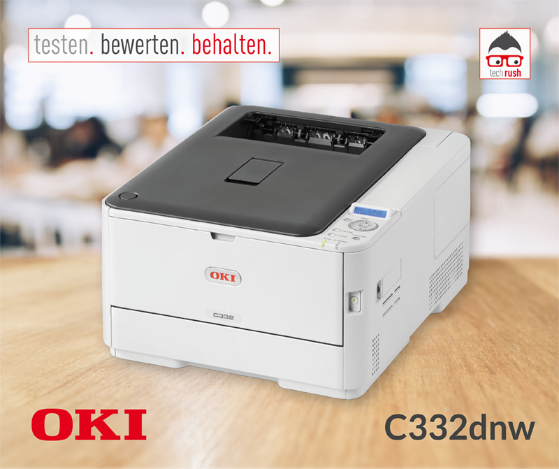 Produkttest WL#OO0- OKI C332dnw LED-Drucker