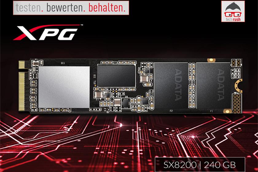 Produkttest ADATA XPG SX8200 240 GB SSD