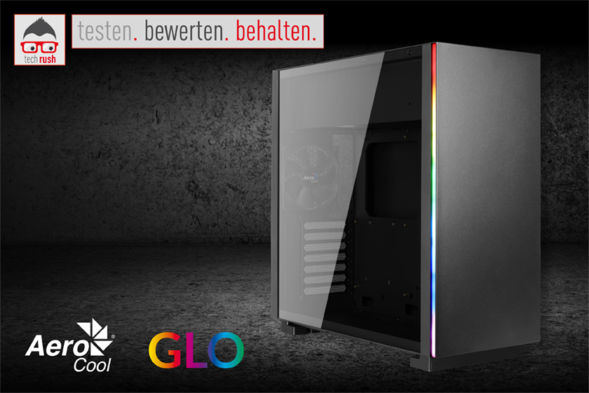 Produkttest Aerocool GLO Tower-Gehäuse
