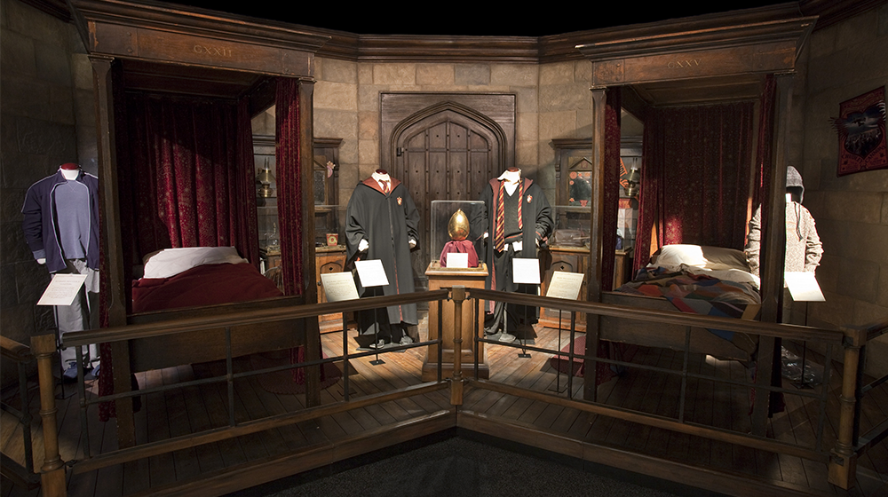 Harry Potter The Exhibition Gemeinschaftsraum Gryffindor