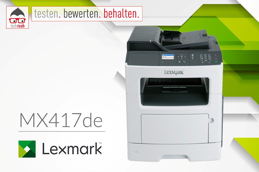 Produkttest Lexmark MX417 Multifunktionsdrucker