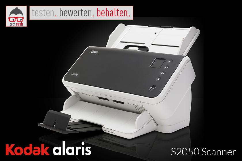 Produkttest Kodak Alaris S2050 Scanner