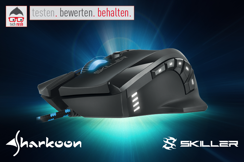 Produkttest Sharkoon SKILLER SGM1 Gaming-Maus