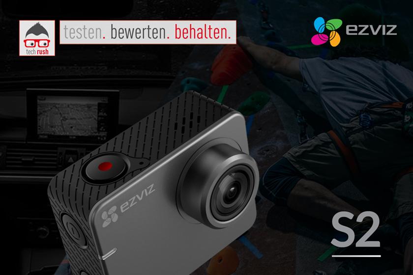 Produkttest EZVIZ S2 Videokamera