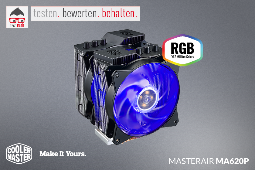 Produkttest Cooler Master MasterAir MA620P CPU Kühler