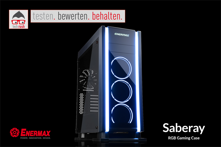 Produkttest Enermax Saberay Tower Gehäuse