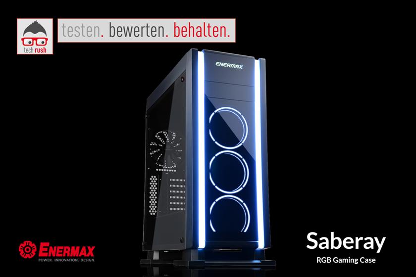 Produkttest Enermax Saberay Tower Gehäuse