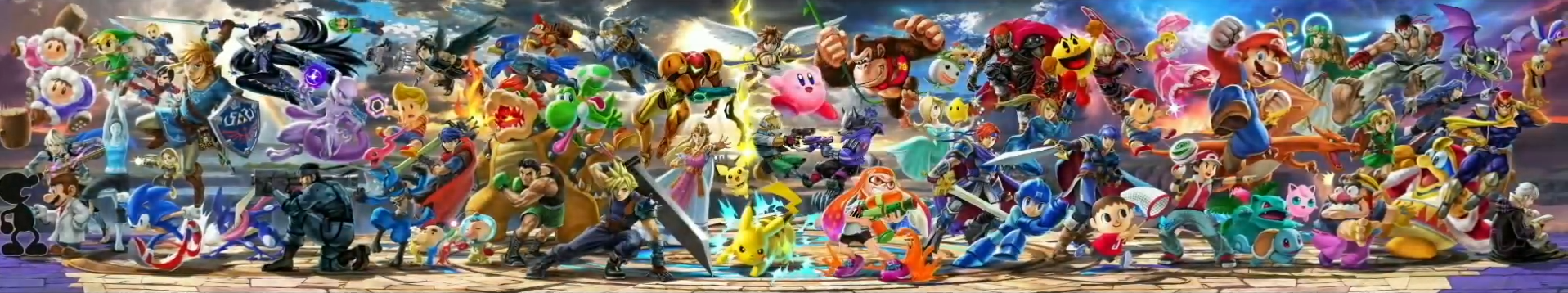 Super Smash Bros. Ultimate Alle Kämpfer