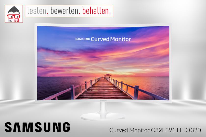 Produkttest Samsung C32F391FWU LED-Monitor