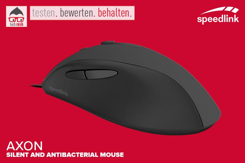 Produkttest Speedlink Axon Silent Maus