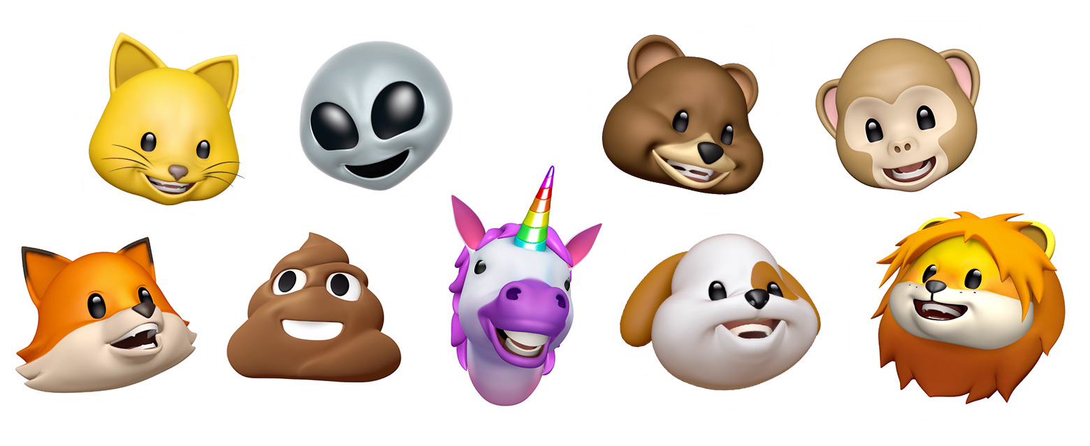 iOS 12 Animojis