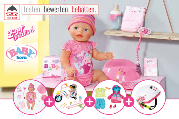 Produkttest: ZAPF Creation BABY born