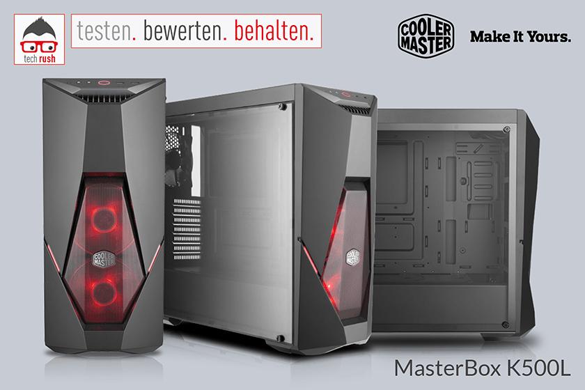 Produkttest Cooler Master MasterBox K500L Gaming-Gehäuse