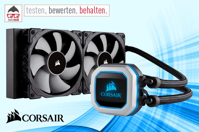 Produkttest CORSAIR Cooling Hydro Series H100i Pro Wasserkühlung