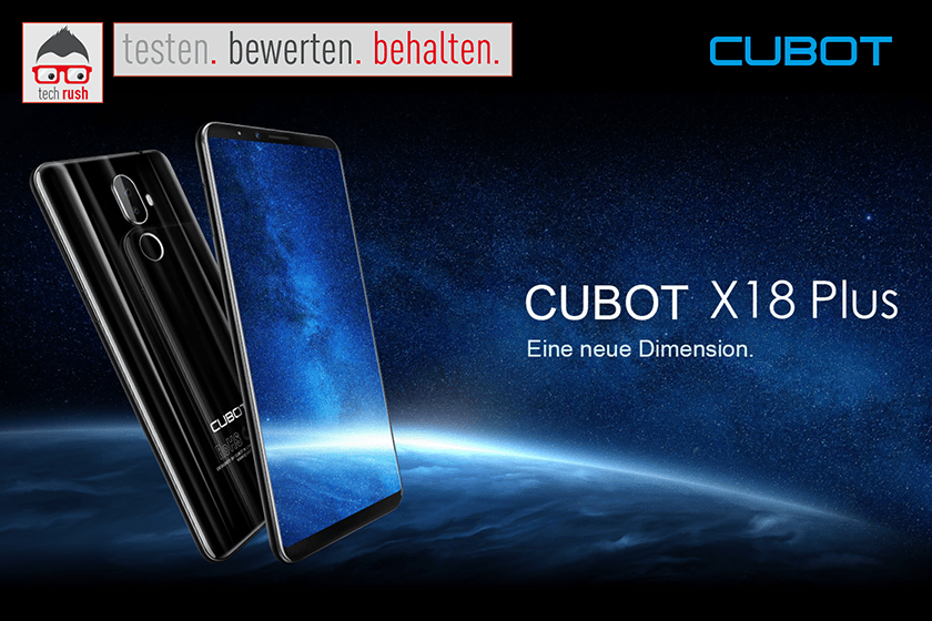 Produkttest Cubot X18 Plus Smartphone