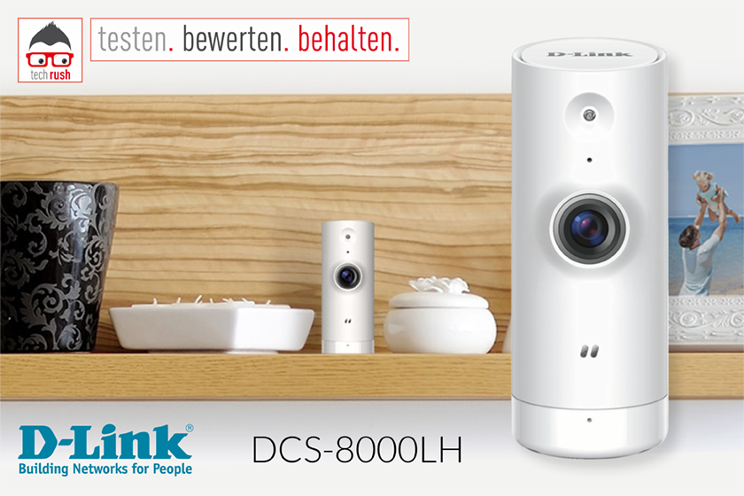 Produkttest: D-Link DCS-8000LH Netzwerkkamera