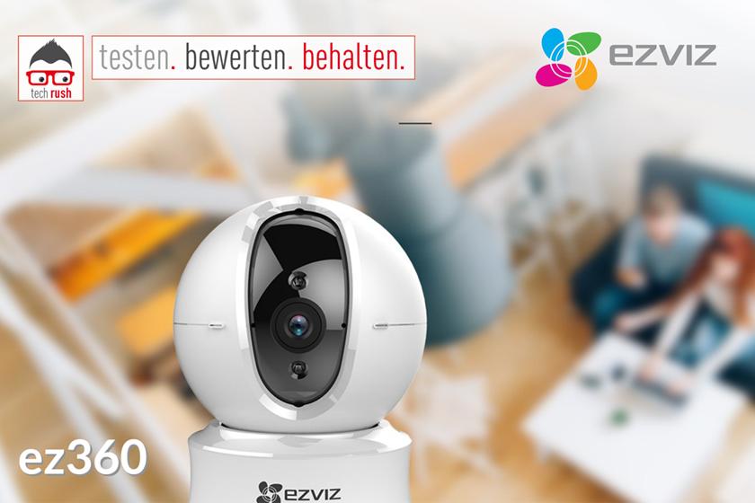 Produkttest EZVIZ ez360 Netzwerkkamera