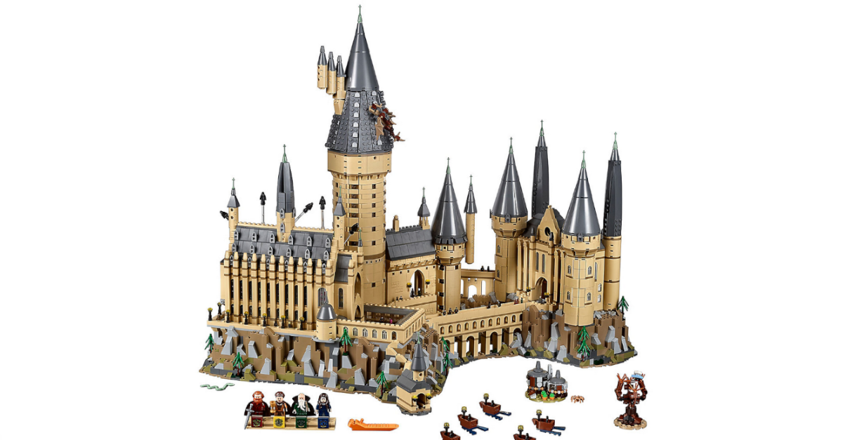 Harry Potter Lego Hogwarts