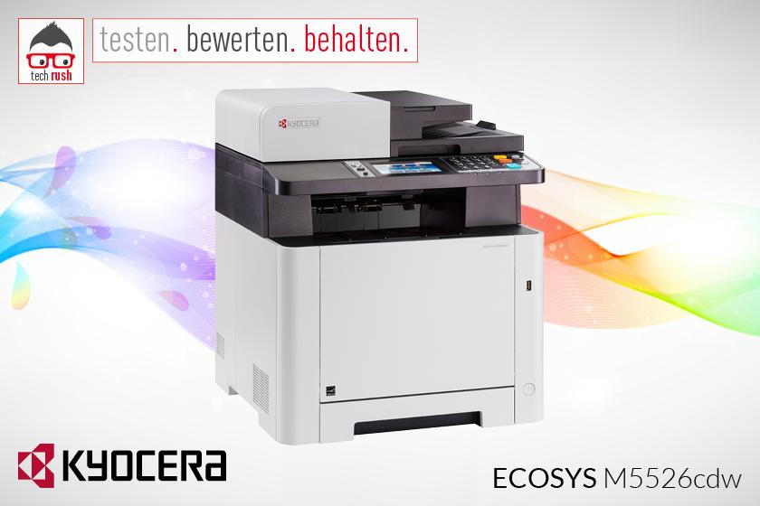 Produkttest Kyocera ECOSYS M5526CDW Multifunktionsdrucker