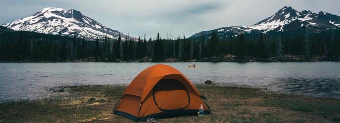 Das unkaputtbare, sich selbst reparierendes Zelt