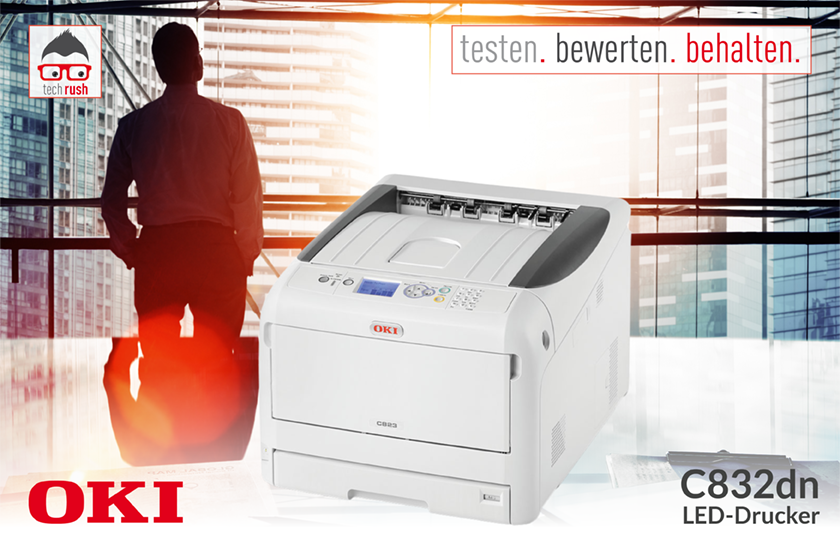 Produkttest OKI C823dn LED-Drucker