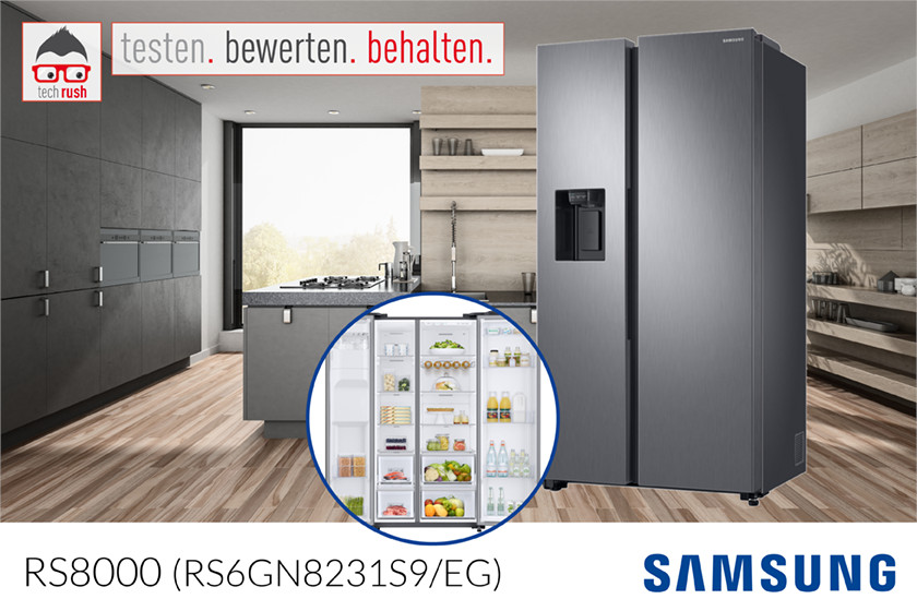 Produkttest Samsung Kühlschrank Side-by-Side