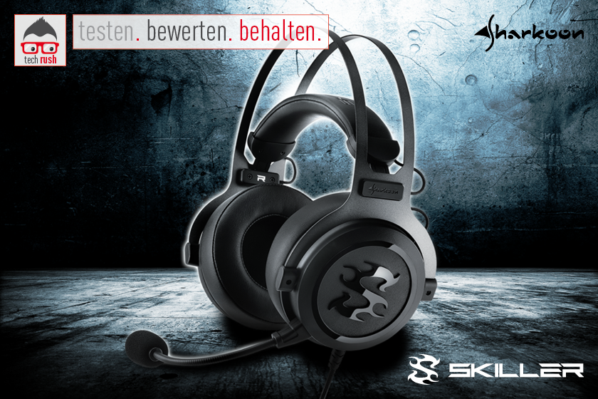 Produkttest Sharkoon Skiller SGH3 Headset