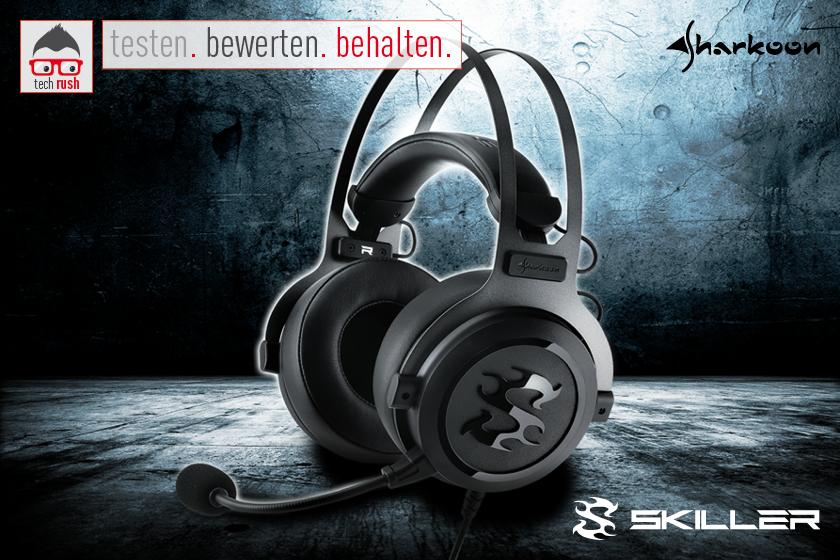 Produkttest Sharkoon Skiller SGH3 Headset