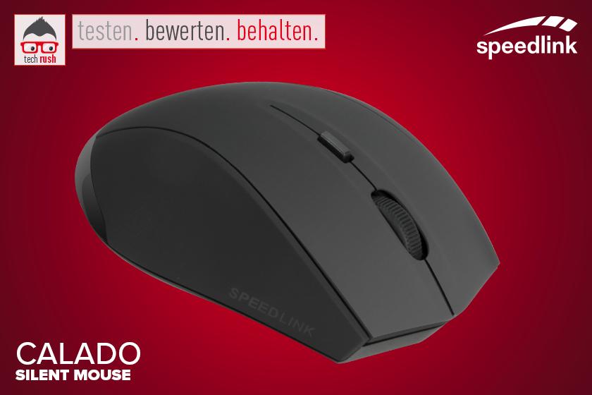 Produkttest Speedlink CALADO Silent Mouse