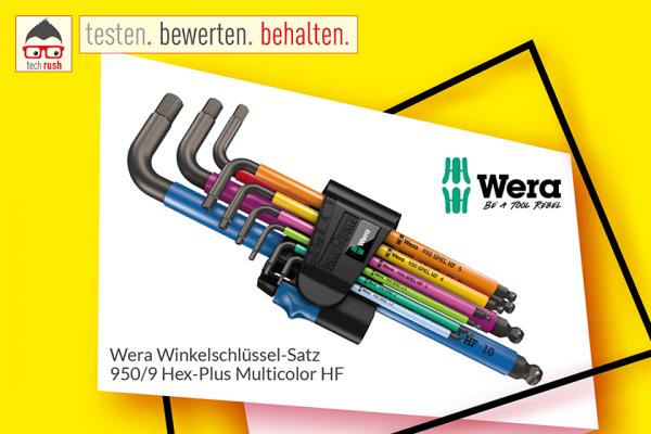 Produkttest Wera Winkelschlüssel-Satz 950 SPKL/9SM N HF Schraubendreher
